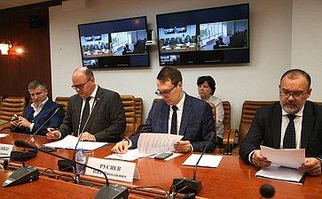 Совещание натему «Омерах законодательного регулирования досудебной санации предприятий» вформате видеоконференции