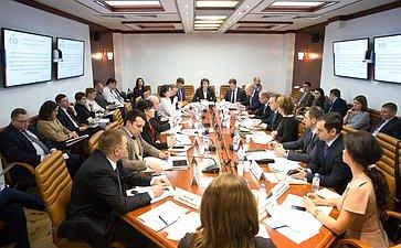 Совместное заседание совета Палаты молодых законодателей иподгруппы позаконодательному обеспечению молодежной политики Госсовета РФ
