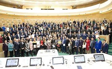 Участники заседания Всероссийского молодежного законотворческого форума