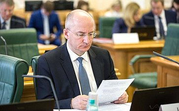 О. Цепкин назаседании Комитета Совета Федерации поконституционному законодательству игосударственному строительству