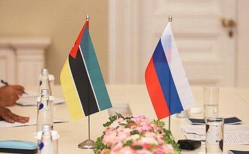 Встреча Валентины Матвиенко сПредседателем Ассамблеи Республики Мозамбик