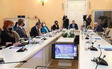 Заседание постоянной комиссии Межпарламентской Ассамблеи СНГ посоциальной политике иправам человека