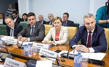 «Круглый стол» Комитета СФ посоциальной политике натему «Развитие телемедицины вРФ: проблемы законодательного регулирования»