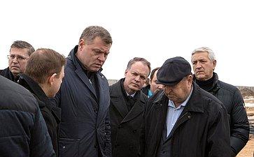 Александр Башкин принял участие врабочей поездке губернатора Астраханской области Игоря Бабушкина вХарабалинский район