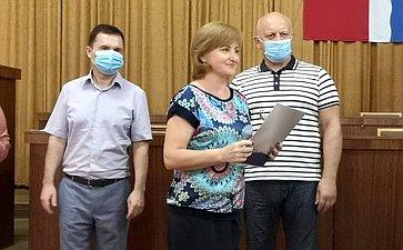 Виктор Назаров принял участие вторжественном награждении участниц проекта «Женщины Сибири»