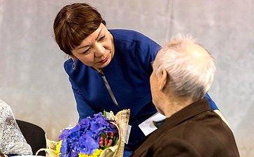 Валентина Зганич поздравила ветеранов сДнем Победы