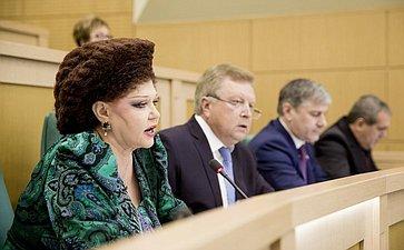 Валентина Петренко на 358 заседании Совета Федерации