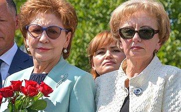 Галина Карелова приняла участие вторжественных мероприятиях, посвященных 75-й годовщине освобождения Кишинева отфашизма