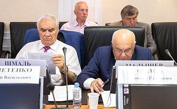Заседание Экспертного совета Комитета СФ поэкономической политике посовершенствованию законодательства всфере развития топливно-энергетического комплекса