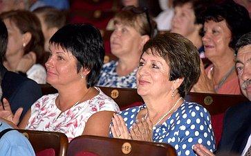 Екатерина Алтабаева приняла участие вторжественном собрании впреддверии Дня строителя вСевастополе