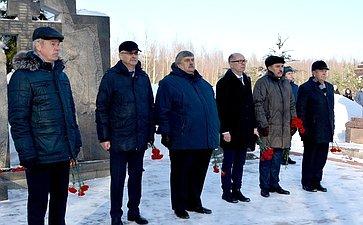 М. Козлов почтил память костромичей, отдавших свою жизнь, защищая иобеспечивая безопасность Родины