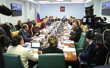 Расширенное заседание Комитета СФ посоциальной политике сучастием представителей органов государственной власти Курганской области