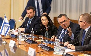 Встреча А. Климова c депутатом Кнессета Государства Израиль Давидом Битаном