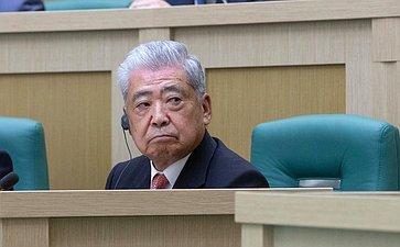 Председатель Палаты советников Парламента Японии Тюити Датэ