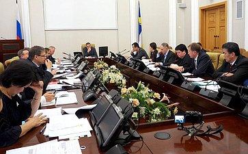 Обсуждение хода исполнения Постановления СФ «Огосударственной поддержке социально-экономического развития Бурятии»