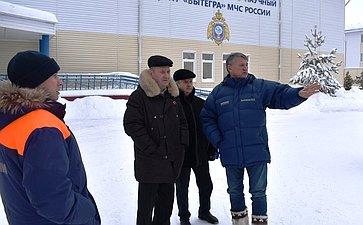 Встреча Ю.Воробьева скурсантами центра «Корабелы Прионежья»