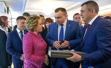 Открытие выставки Сахалинской области вСовете Федерации