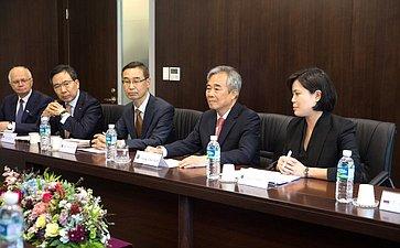 Визит делегации Совета Федерации вЮжную Корею
