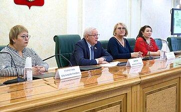 Встреча В.Маркова сучастниками Всероссийского мастер-класса учителей родного, втом числе русского языка