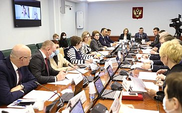Расширенное заседание Комитета СФ посоциальной политике сучастием Министра спорта РФ