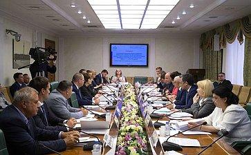 Совещание «Ореализации постановлений Совета Федерации ФС РФ, принятых врамках проведения Дней субъектов Российской Федерации вСовете Федерации ФС РФ»