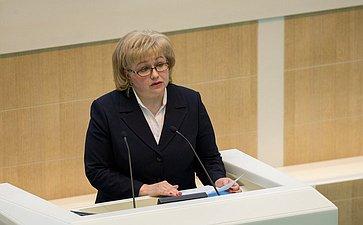 М. Антонова назначена судьей Верховного суда РФ на389-м заседании Совета Федерации