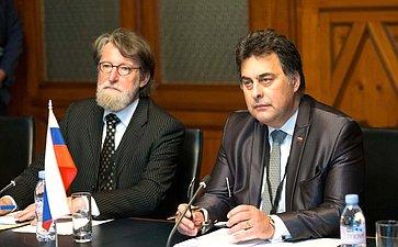 В. Матвиенко провела встречу сПредседателем Государственного Совета Республики Словении М. Берваром