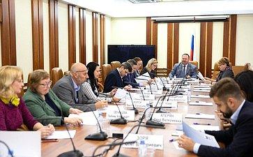 Встреча членов Комитета пофедеративному устройству, региональной политике, местному самоуправлению иделам Севера спредставителями органов благоустройства территории сельских поселений