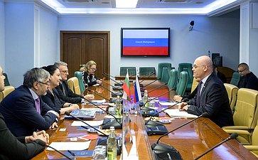 В. Круглый провел встречу сделегацией Болгарии, посвященную развитию партнерских отношений повопросам санаторно-курортного лечения