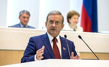 Председатель Законодательного Собрания Вологодской области Г. Шевцов