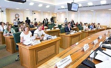 Парламентские слушания натему «Совершенствование законодательства РФ, регулирующего статус комиссий поделам несовершеннолетних изащите их прав»