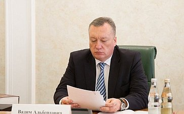 Совместное заседание комитетов СФ поконституционному законодательству ирегламенту