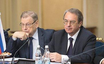Встреча В. Матвиенко сПрезидентом Арабской Республики Египет Абдельфаттахом Ас-Сиси