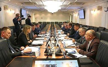 Заседание Совета повопросам газификации субъектов РФ при СФ