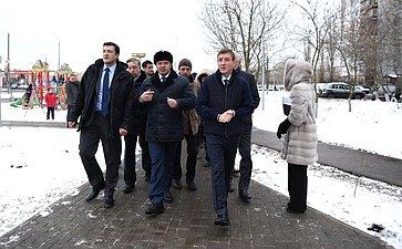Андрей Турчак иГлеб Никитин побывали вКанавинском районе Нижегородской области