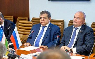 Встреча сзаместителем Председателя Конституционного суда Узбекистана А.Гафуровым