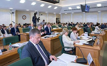 Заседание Совета повопросам жилищного строительства исодействия развитию жилищно-коммунального хозяйства при СФ