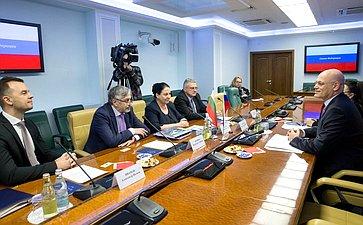 Встреча сделегацией Болгарии, посвященная развитию партнерских отношений повопросам санаторно-курортного лечения