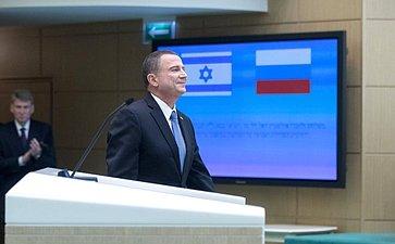 Председатель Кнессета Израиля Ю. Эдельштейн