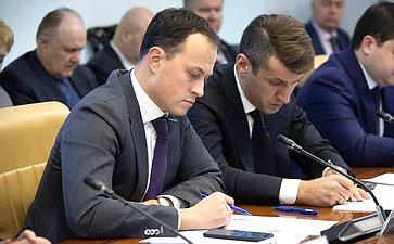 Совещание Комитета СФ пофедеративному устройству, региональной политике, местному самоуправлению иделам Севера (совместно сКомитетом СФ побюджету ифинансовым рынкам)