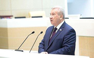 Выступление Председателя Думы Ханты-Мансийского автономного округа— ЮгрыБ. Хохряков