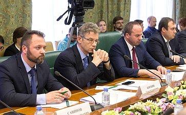 «Круглый стол» натему «Актуальные вопросы законодательного регулирования вобласти охраны Онежского иЛадожского озер»