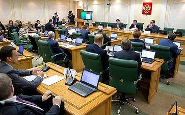 Заседание Комитета СФ побюджету ифинансовым рынкам сучастием представителей власти Якутии