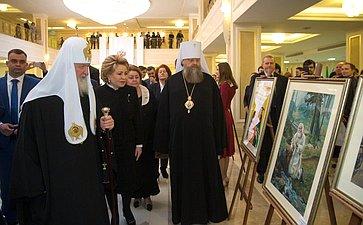 В. Матвиенко иПатриарх Кирилл