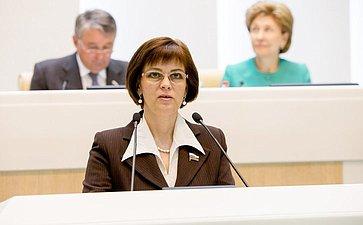374-е заседание Совета Федерации Попова