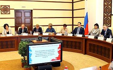 Заседание Экспертного совета пофизической культуре испорту при Комитете СФ посоциальной политике вБурятии