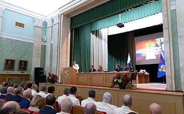В. Матвиенко приняла участие вТоржественном заседании, посвященном Дню работника прокуратуры РФ