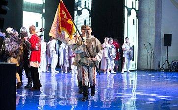 Церемония открытия Х Международного фестиваля «Великое русское слово» вКрыму