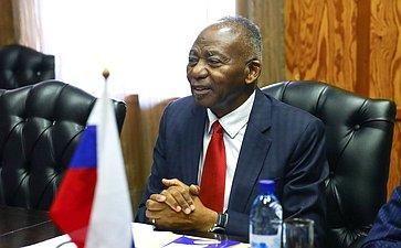 Председатель Национального Собрания Намибии Питер Качавиви