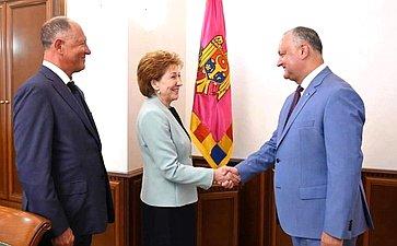 Делегация Совета Федерации приняла участие вторжественных мероприятиях, посвященных 75-й годовщине освобождения Кишинева отфашизма